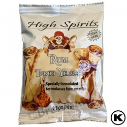 High Spirits Rum Distillers Yeast