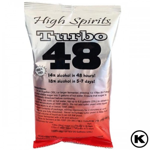 High Spirits Turbo 48 Yeast