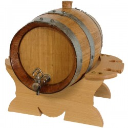 Premium Oak Barrel-Keg Set - Charred 4L