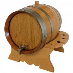 Premium Oak Barrel-Keg Set - Charred 16L
