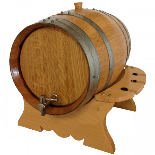 Premium Oak Barrel-Keg Set - Charred 8L