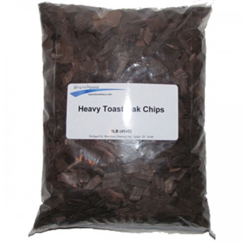 Heavy Toast American Oak Chips - 1lb