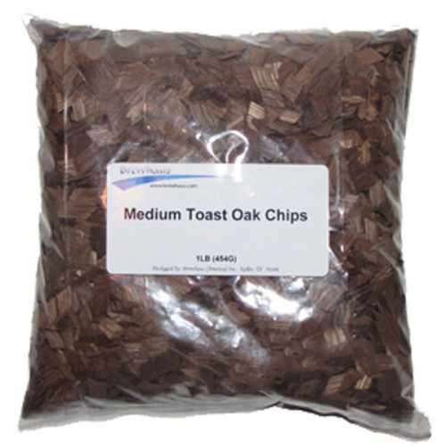 Medium Toast American Oak Chips - 1lb