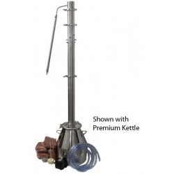 Essential Extractor High Volume Gin Series Stainless Steel Distiller Complete Setup & Kit